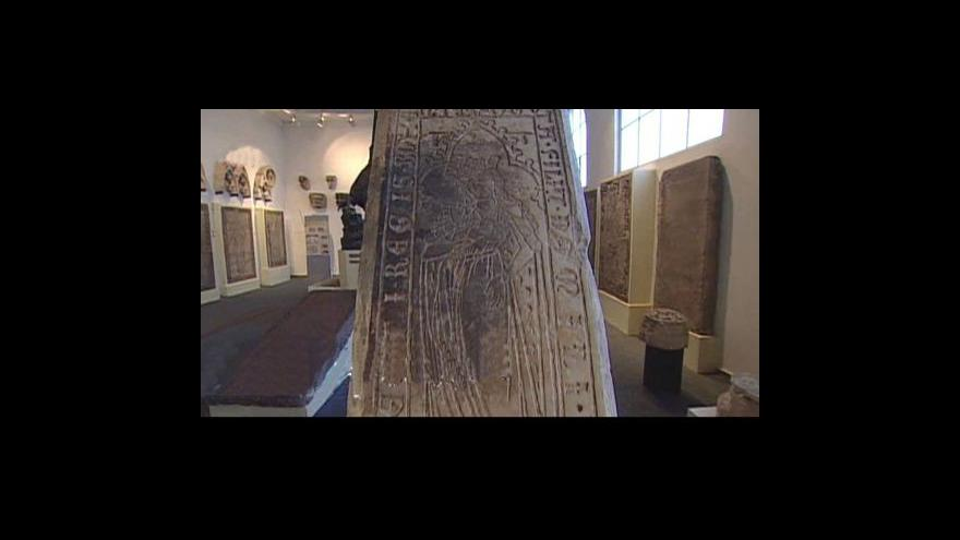 Video Z Lapidária Národního muzea informuje Barbora Peterová