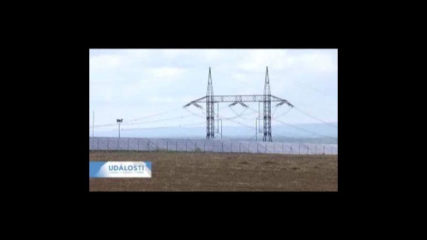Video Reportáž o solárních panelech