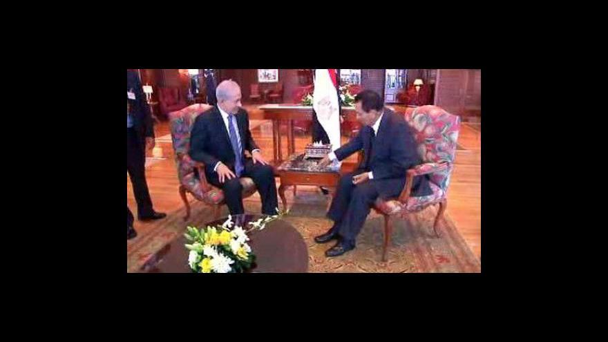 Video Izrael a Palestina zasedly k jednacímu stolu