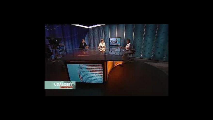 Video Události, komentáře o situaci ve zdravotnictví