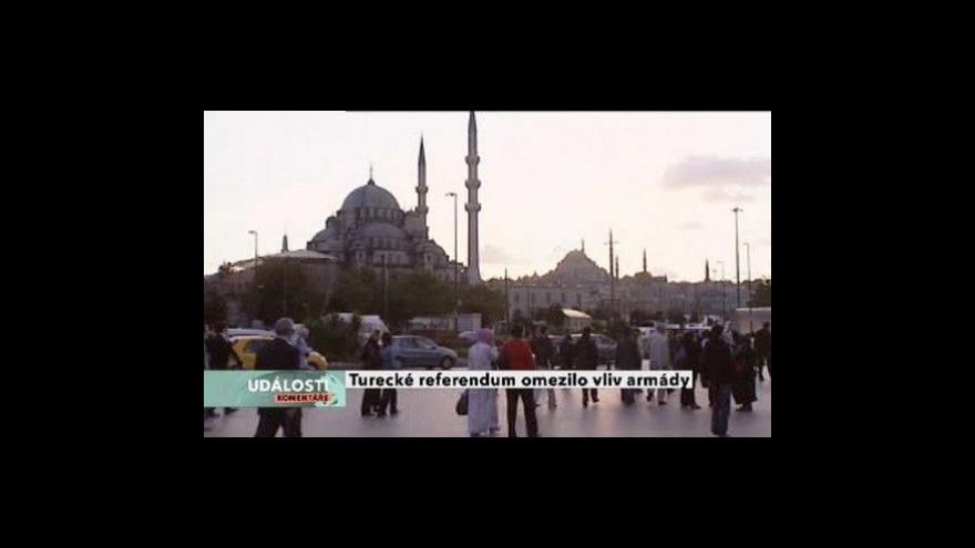 Video Události, komentáře o tureckém referendu