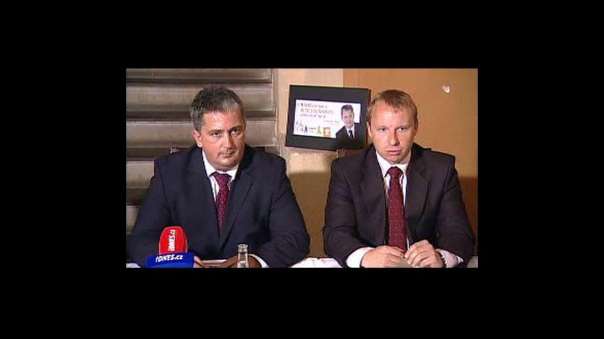 Video Brífink pražské ČSSD k volbám