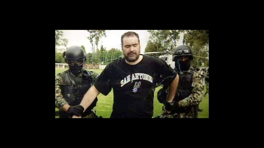 Video V Mexiku zadrželi dalšího z nejhledanějších bossů narkomafie