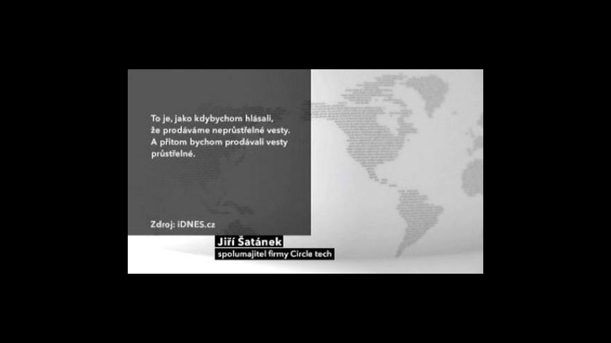Video Skandál kolem nátlaku BIS na podnikatele
