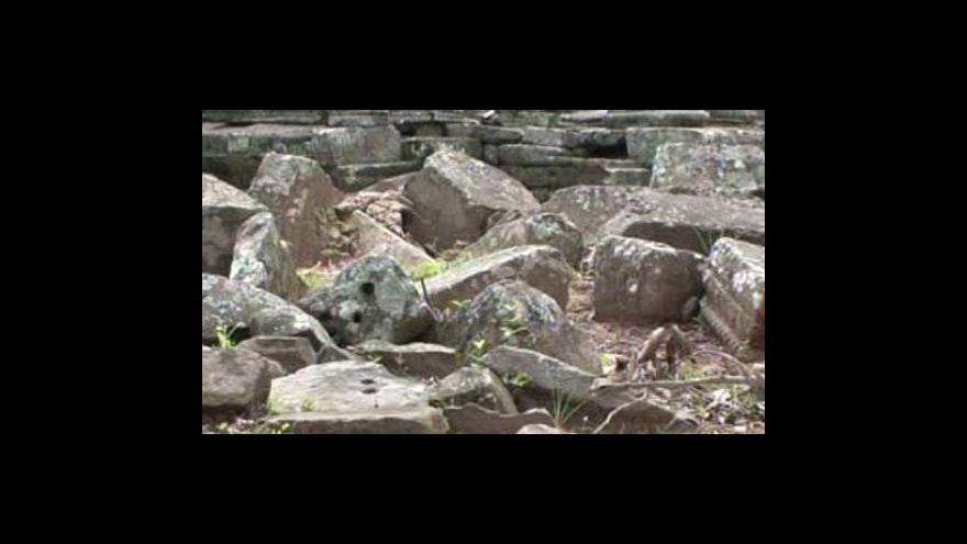Video Kambodžská památka je vážně ohrožena