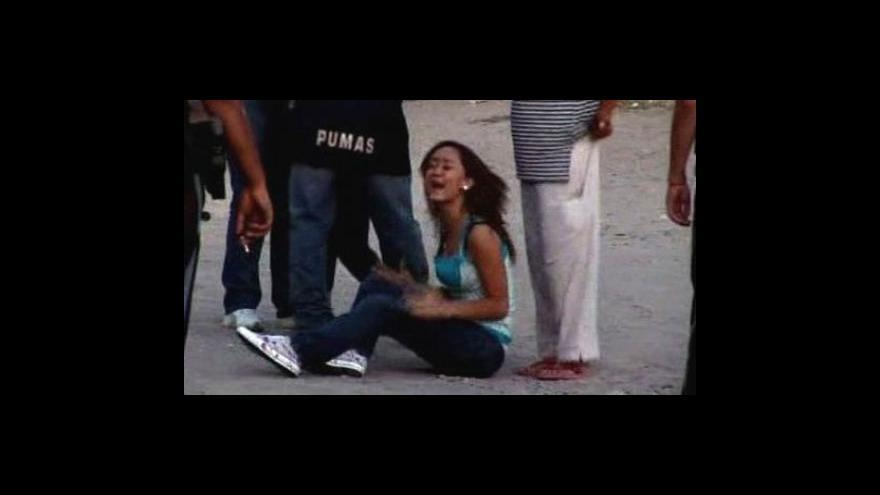 Video Násilí v Mexiku pokračuje