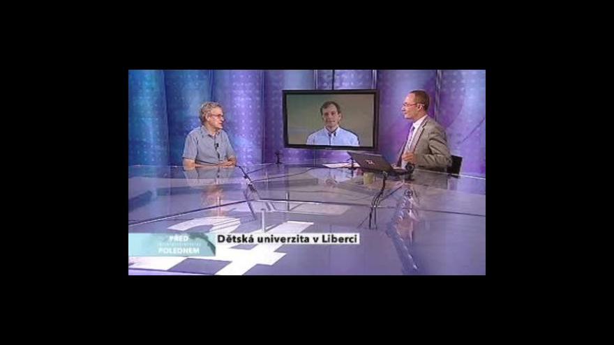 Video Miloš Hernych a Václav Mertin v pořadu Před polednem