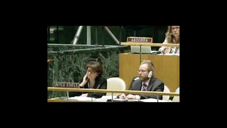Video VS OSN schválilo rezoluci o Kosovu