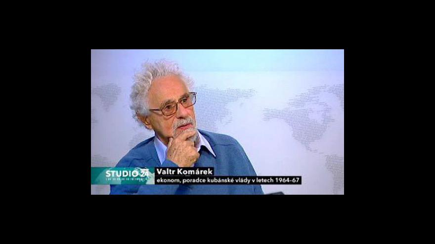 Video Rozhovor s ekonomem Valtrem Komárkem