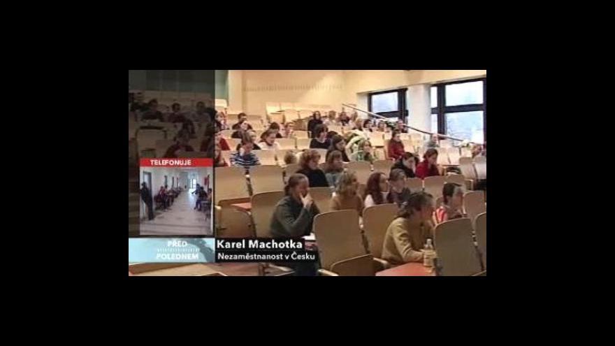 Video Nezaměstnanost za druhé čtvrtletí 2010
