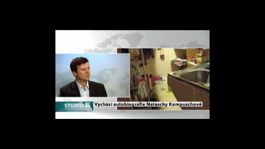 Video Jan Moláček o knize Nataschy Kampuschové