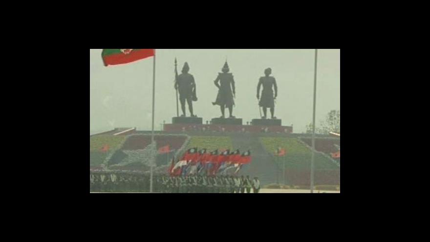 Video Spekulace barmské junty