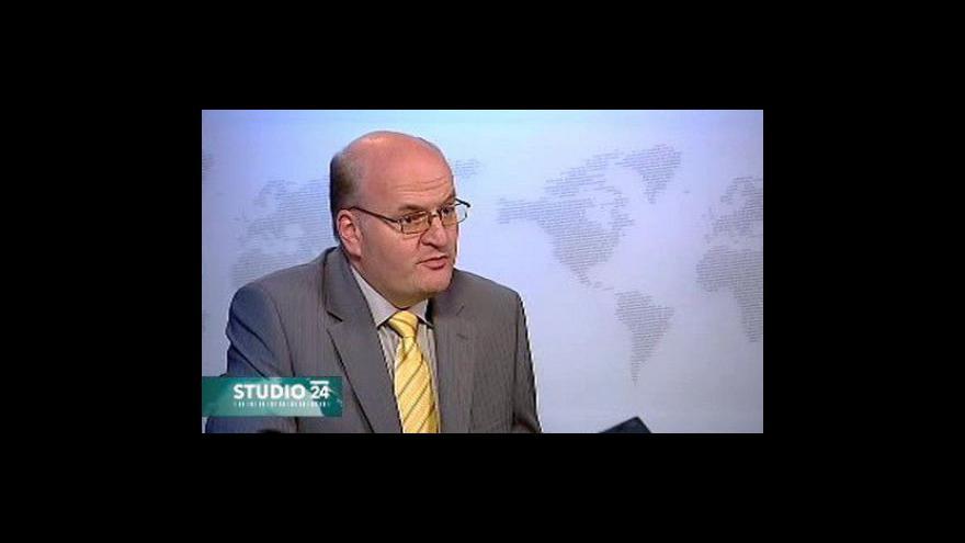 Video Rozhovor s Hermanem ve Studiu ČT24