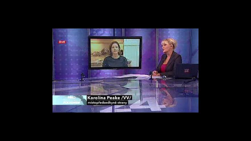 Video Rozhovor s Karolínou Peake a Jiřím Polanským