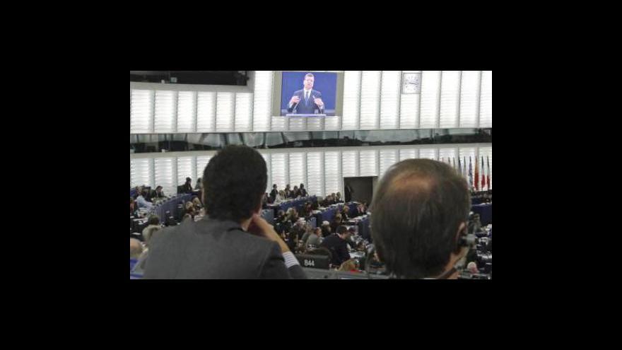 Video Studio ČT24 k Barrosově zprávě o stavu unie