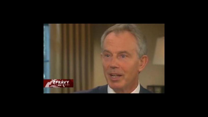 Video Blair zrušil autogramiádu