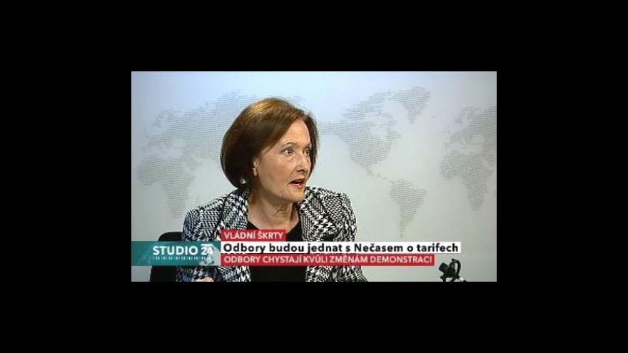 Video Rozhovor s Alenou Vondrovou