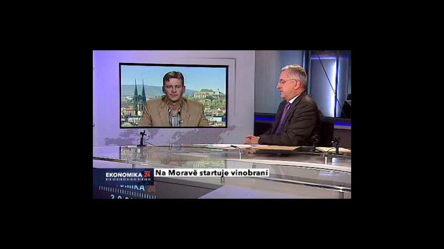 Video Rozhovor s předsedou vinařského spolku Víno z Velkých Pavlovic Pavlem Lacinou