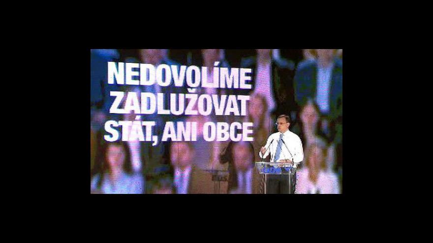 Video ODS zahájila předvolební kampaň