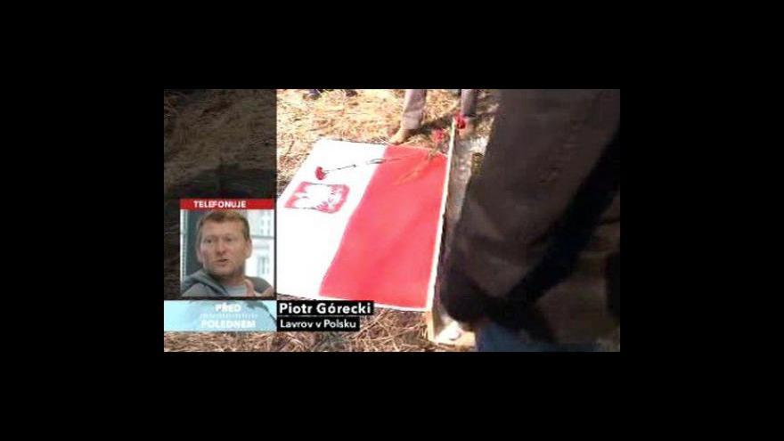 Video Piotr Gorecki k jednání Sergeje Lavrova ve Varšavě
