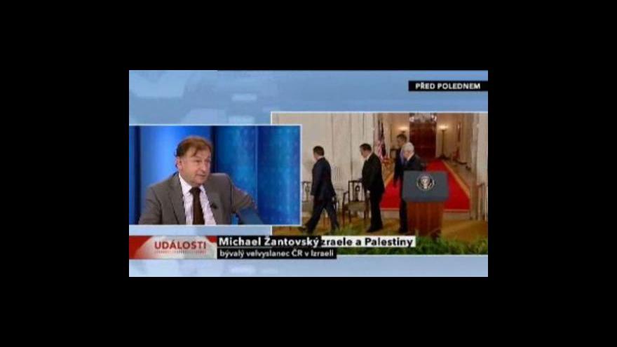 Video Blízkovýchodní jednání ve Washingtonu