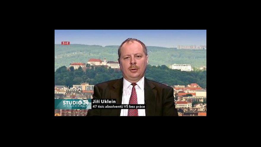 Video Rozhovor s Jiřím Ukleinem