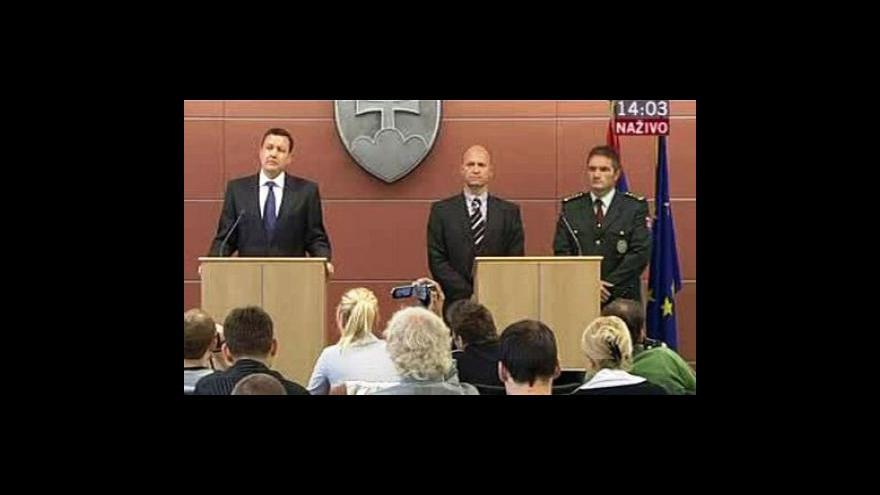 Video Brífink k případu bratislavského střelce