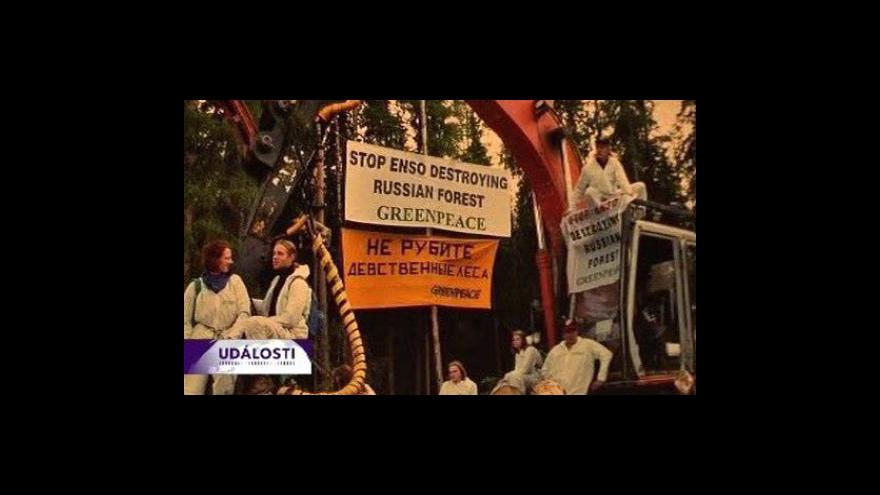 Video Medvěděv zastavil výstavbu dálnice