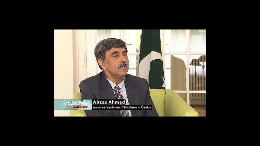 Video Rozhovor s velvyslancem Pákistánu v ČR