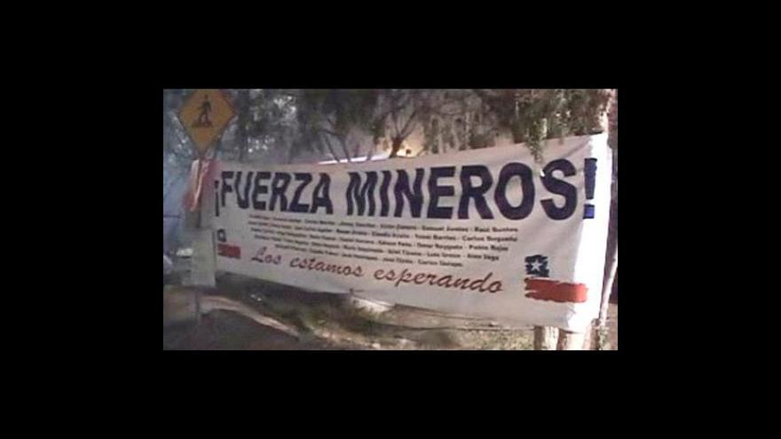 Video Zasypaní chilští horníci komunikují s okolím