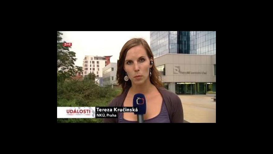 Video Reportáž a vstup Terezy Kručinské