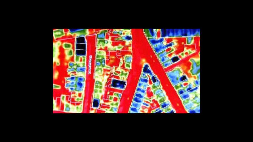 Video V Antverpách mají termomapu