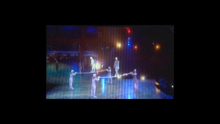 Video Přijede Cirque du Soleil