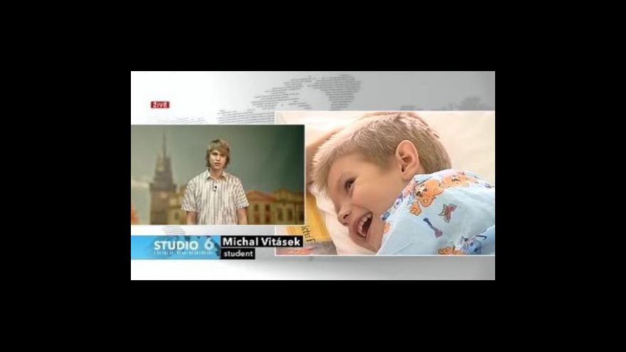 Video Michal Vitásek ve Studiu ČT24