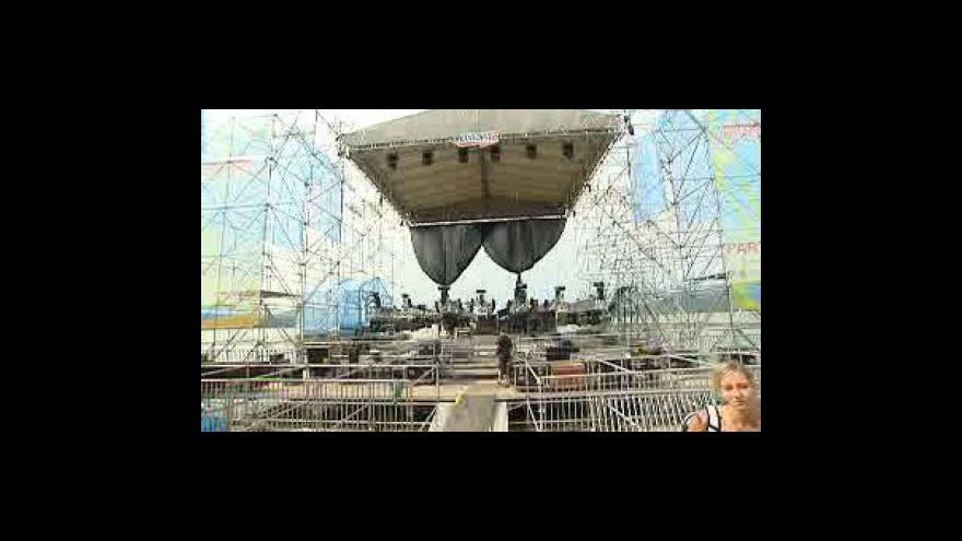 Video Začíná festival Mácháč