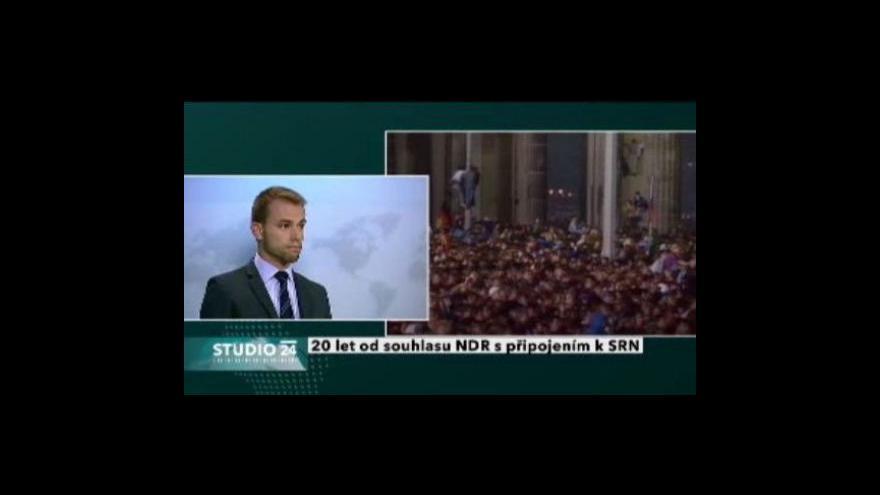 Video Studio ČT24 o stahování ruských vojsk
