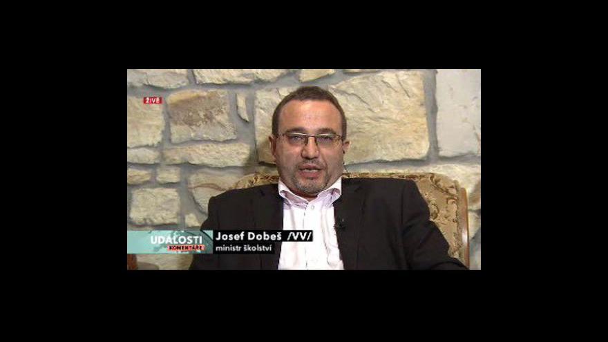 Video Rozhovor s Josefem Dobešem a Alfrédem Dytrtem