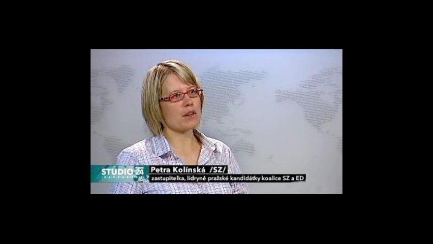 Video Studio ČT24 k propadu tunelu Blanka