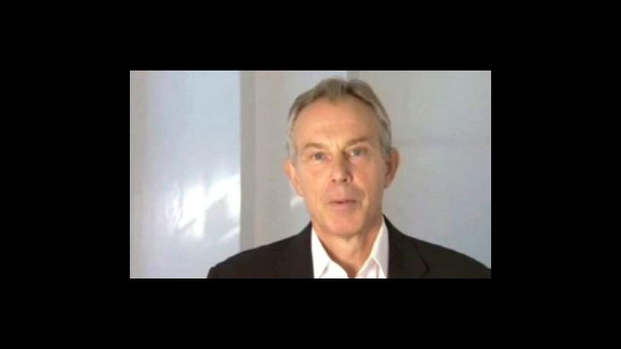 Video Tony Blair vydává paměti
