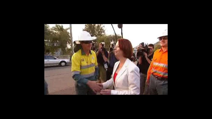 Video V Austrálii vrcholí volební kampaň