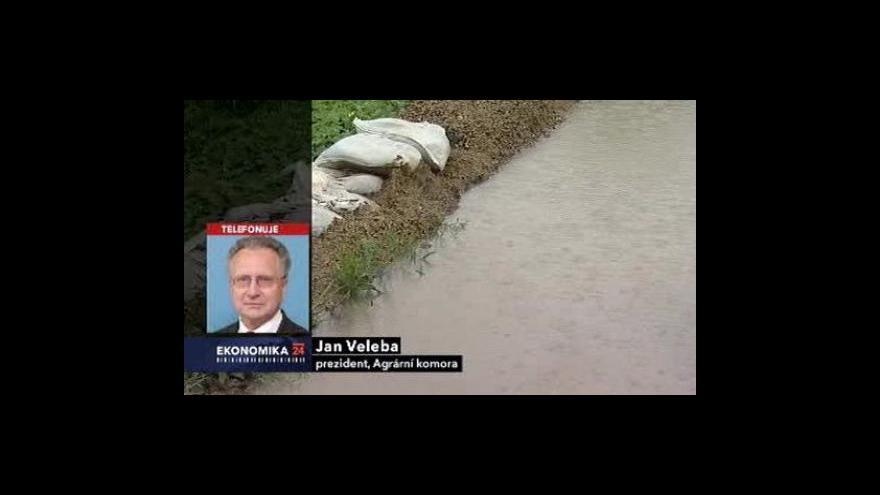 Video Reportáž Jiřího Böhma, rozhovor s Janem Velebou
