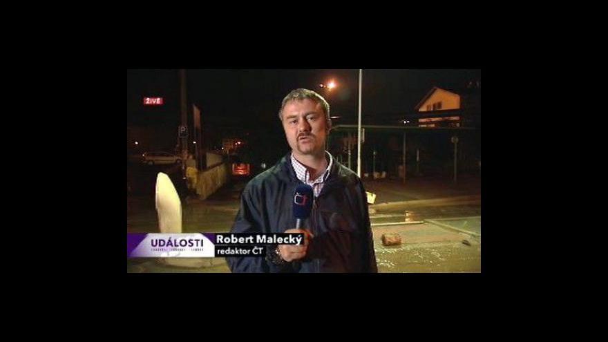 Video Vstup Roberta Maleckého ve 23:00