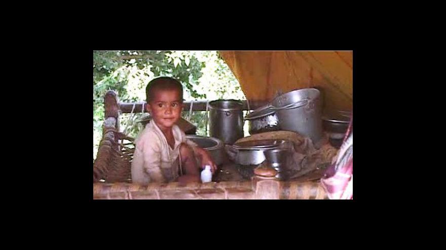 Video Povodně zničily v Pákistánu úrodu