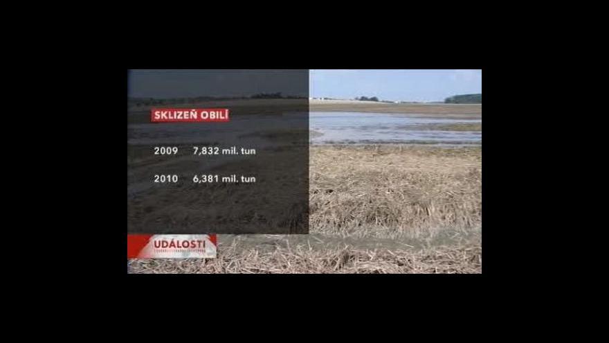 Video Odhady letošní sklizně