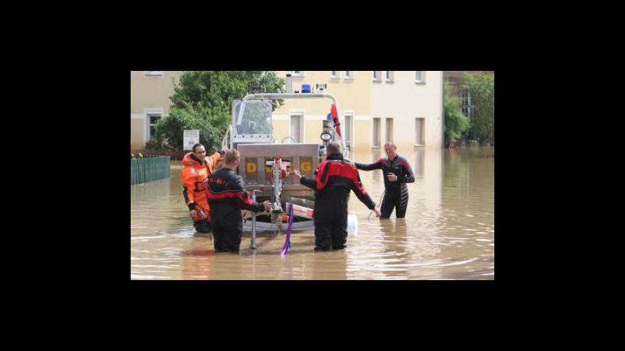 Video Záplavy v Polsku a Německu