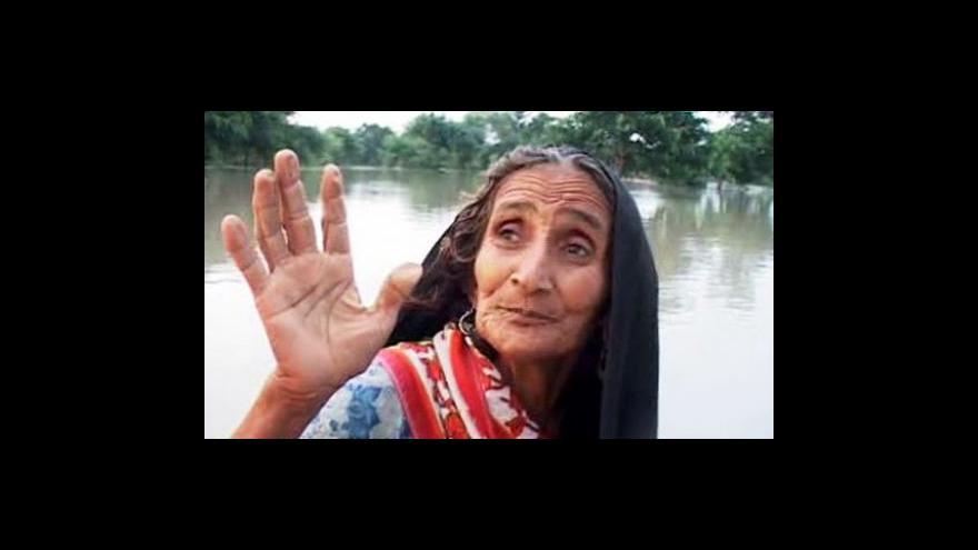 Video Pákistán se potýká s nejhoršími záplavami za 80 let