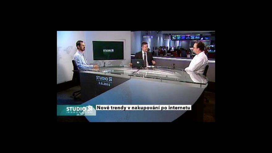 Video Studio ČT24: Trendy v nakupování po internetu