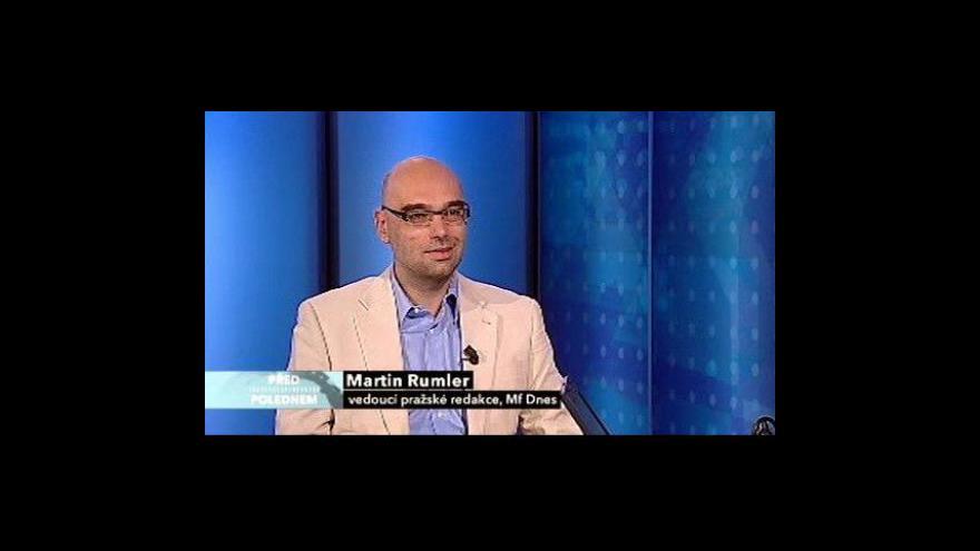 Video Rozhovor s Martinem Rumlerem