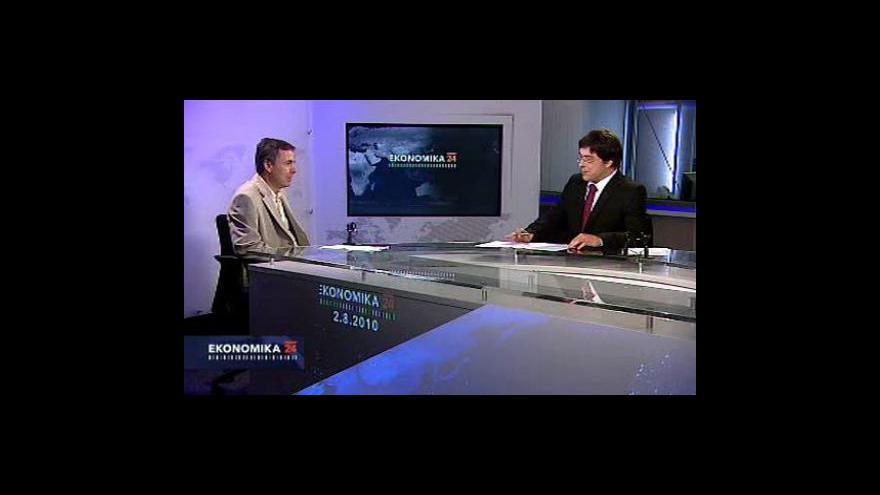 Video Rozhovor s ekonomickým novinářem Petrem Korbelem