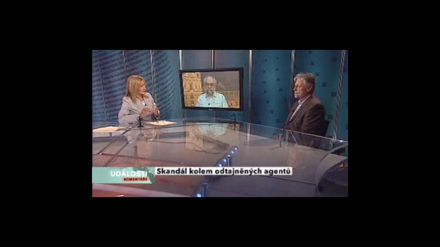 Video Katka Volná, Jan Schneider a František Bublan v Událostech, komentářích